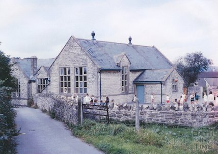 Paulton Junior School (formerly the Methodist School), c.1974