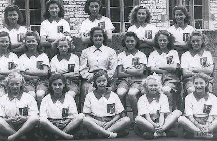 Paulton Secondary School Netball Team, 1961