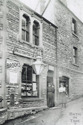 The former Post Office in Candlegrease Lane, Paulton, c.1900s