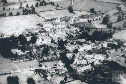 c.1910 - 1920 Aerial view of Paulton