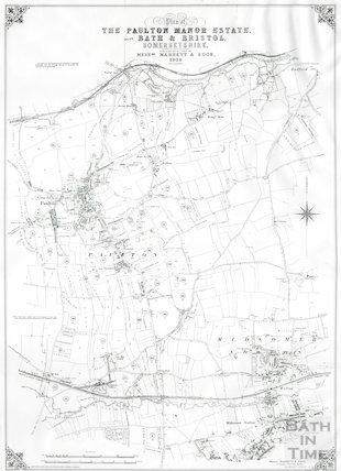 Plan of the Paulton Manor Estate 1914