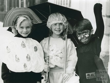 Fancy Dress Competition, Children's Library, Bridge Street, August 1989