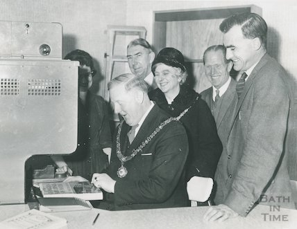 Opening Ceremony, Moorland Road Branch Library, 29th December 1962.