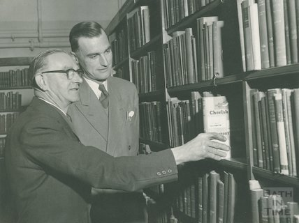 Opening of the Lending Library Basement, Bridge Street