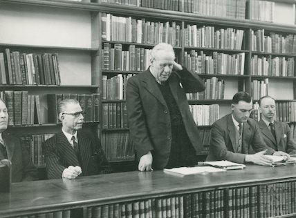 Opening of Converted Reference Library, Bridge Street, 1958