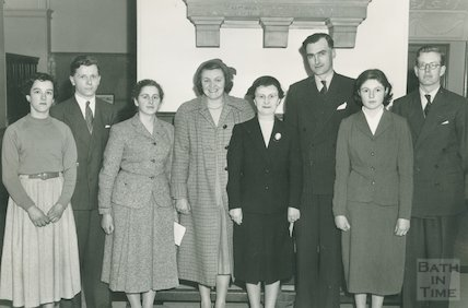 A.A.L. Meeting in the Guildhall, March 1956