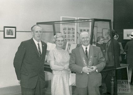 Opening of T.U.C. Centenary Exhibition at 18 Queen Square, 31st May 1968