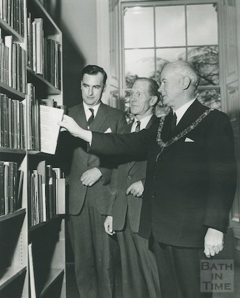 Opening of new Reference Library, 21st March 1964