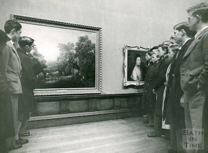 Victoria Art Gallery Events, Gainsborough Exhibition, 1949