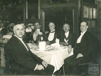 Victoria Art Gallery, Dinner held in Honour of M. Oppenheim, and Alfred Jones, 1920