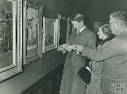 Victoria Art Gallery, Bath Society of Artists Exhibition, 1954