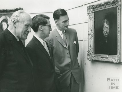 Victoria Art Gallery, Barker Exhibition, 1962