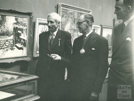 Victoria Art Gallery, Bath Society of Artists Exhibition, 1956