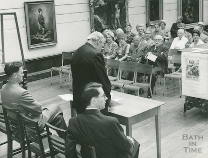 Victoria Art Gallery, Barker Exhibition, 1962