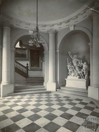 Lending Library Vestibule, Bridge Street, c.1900
