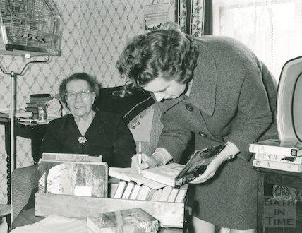 Books for the Housebound Scheme, Bath Library, c.1950s