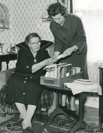 Books for the Housebound Scheme, Bath Library, c.1950s
