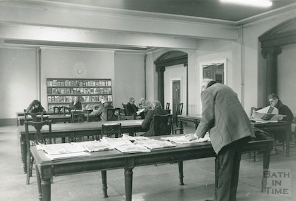 Reading Room, Reference Library, Queen Square, December 1989