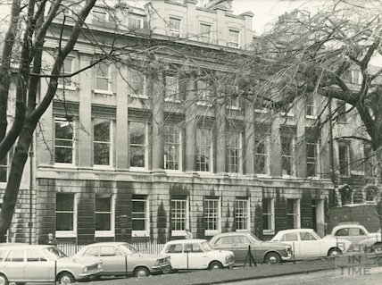 Exterior of Reference library, 18 Queen Square, 1968