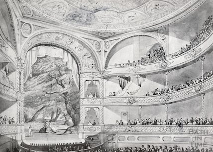 Theatre Royal, Bath, c.1860s?