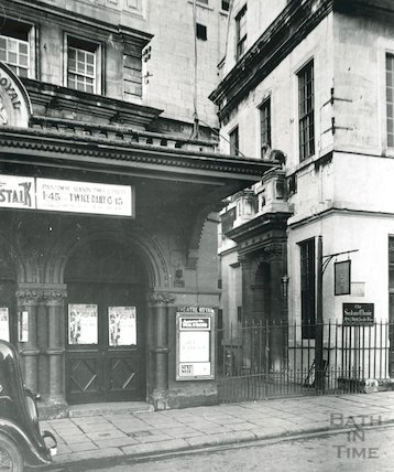 Theatre Royal entrance, c.1950s
