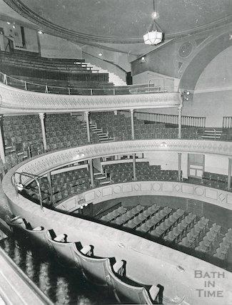 Theatre Royal Bath, Interior, 1964