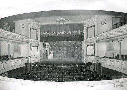 Theatre Royal Bath Stage and Pit from the Circle, 1964