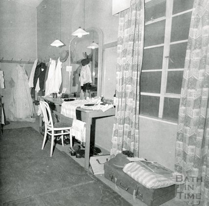 Theatre Royal Bath, Dressing Room, 1964