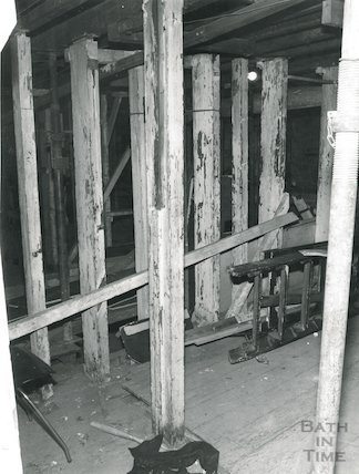 Theatre Royal Bath, below the Stage, 1981