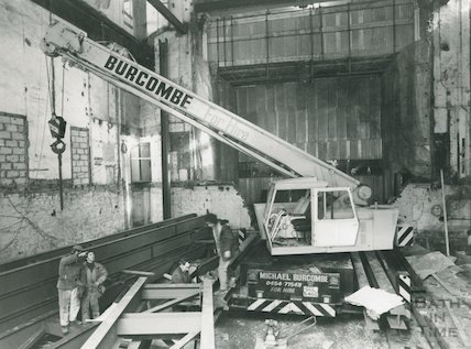 Theatre Royal Renovations, c.1982