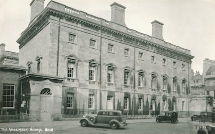 The Assembly Rooms Bath, South View, c.1931
