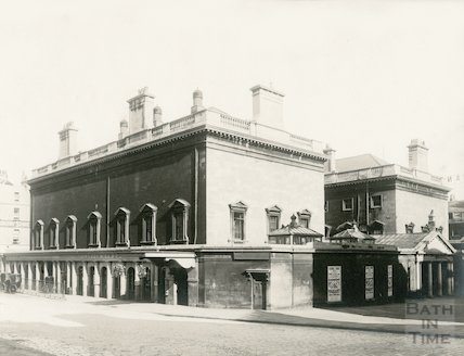 Assembly Rooms from the North, 1909