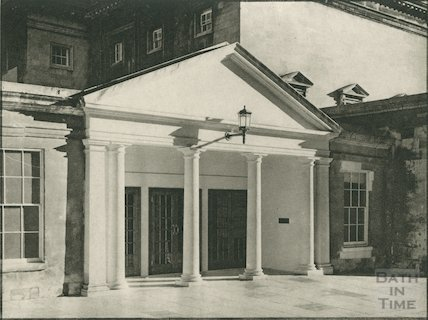 Assembly Rooms entrance, c.1939