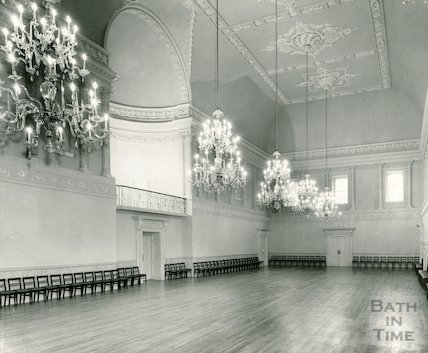 The Ballroom at the Assembly Rooms, c.1960s