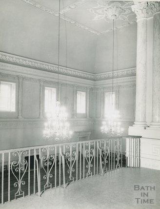 View of the Ballroom from Minstrels Gallery, Assembly Rooms, c.1960s