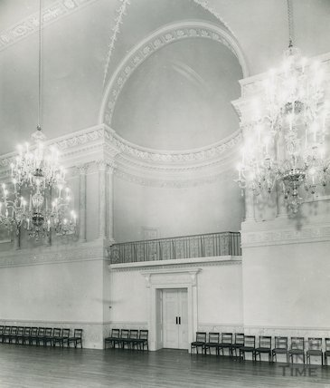 Ballroom, Assembly Rooms, Bath, c.1960s