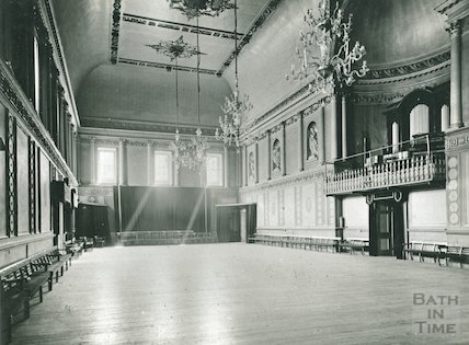 Assembly Rooms, the Ballroom, c.1920s