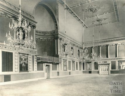 Assembly Rooms Ballroom, c.1909