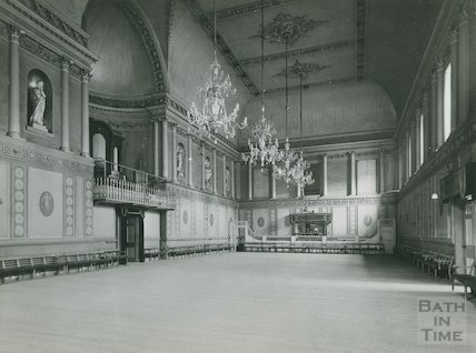 Assembly Rooms, the Ballroom, c.1910