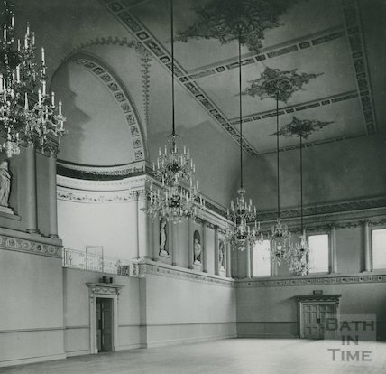 Assembly Rooms, the Ballroom reconstructed, c.1939