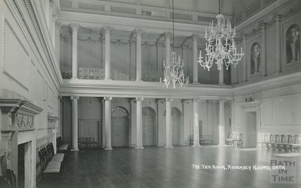 Assembly Rooms, Tea Room after Restoration, October 14 1938