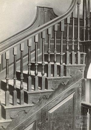 Staircase, Nassau House, 13, Orange Grove, Bath, c.1890