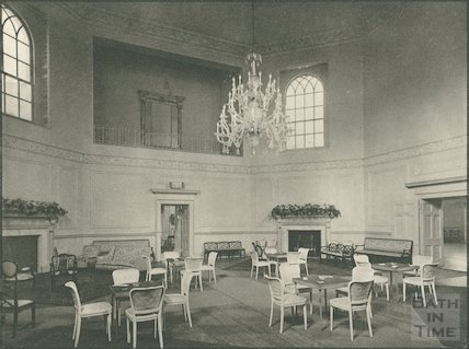 Assembly Rooms, the large Octagon Room, c.1939