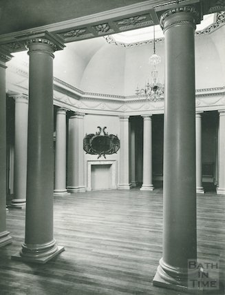 Assembly Rooms, the small Octagon Room after restoration, c.1939