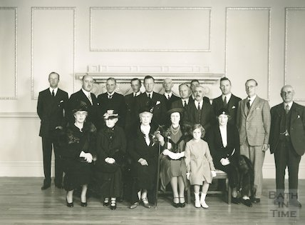 Assembly Rooms - visit of Queen Mary, 1938