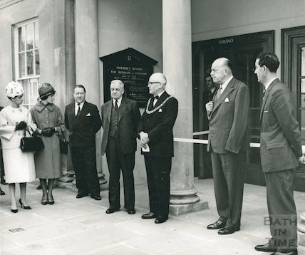Re-opening of the Assembly Rooms, 1963