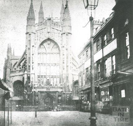 Abbey Churchyard, 1849