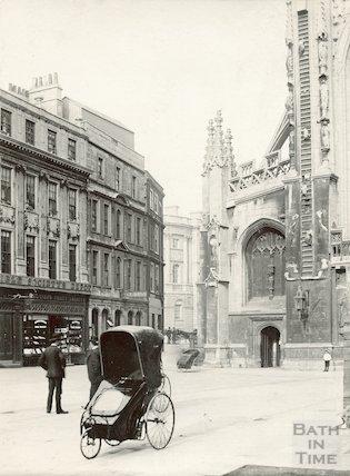 Abbey Churchyard, c.1897