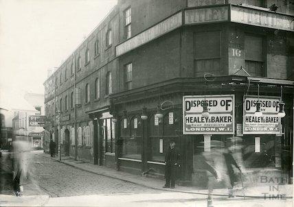 Abbeygate Street, corner of Stall Street, c.1933
