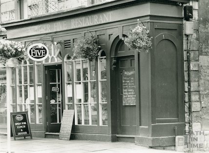 Number Five Restaurant, 5 Argyle Street, July 1991